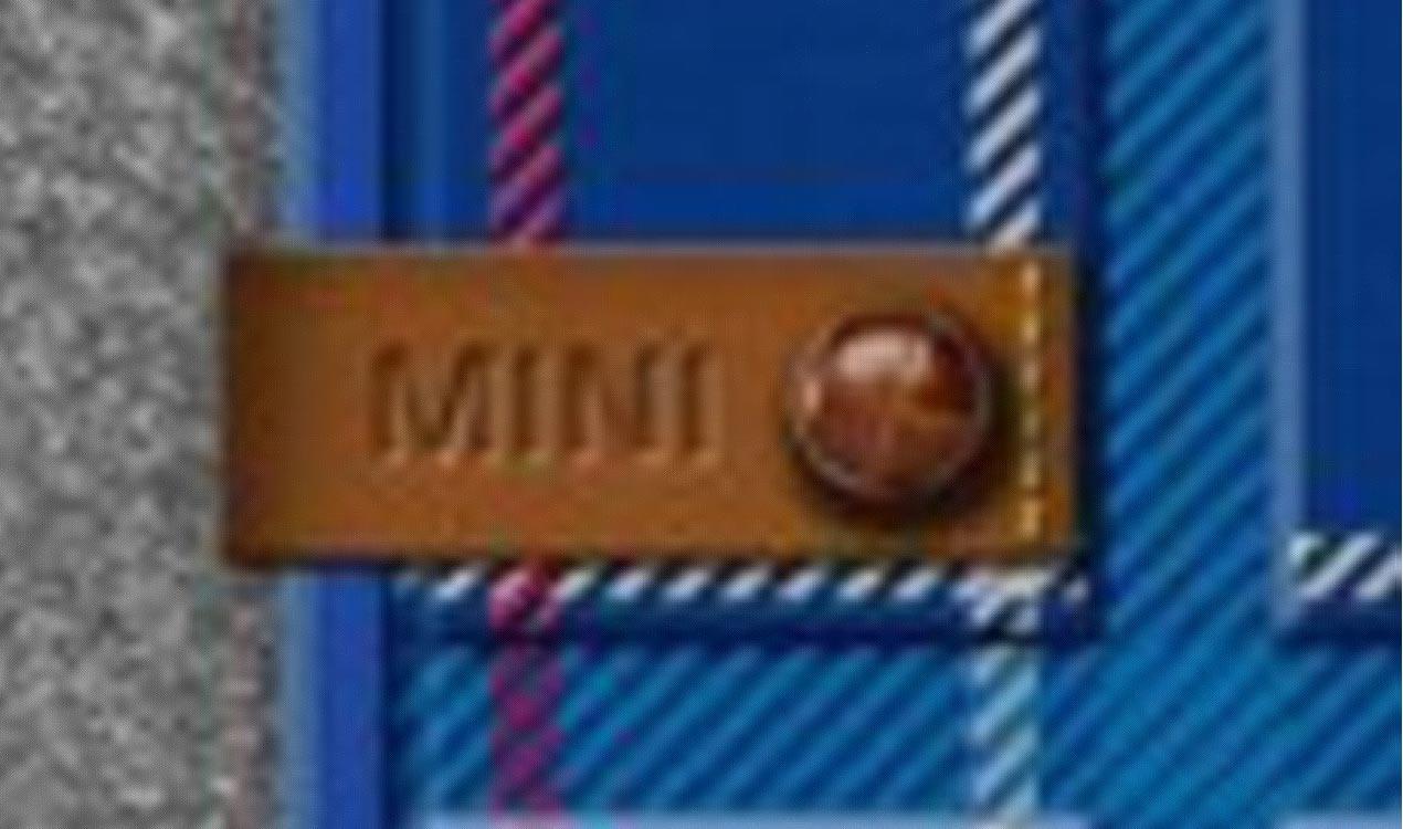 MINI 3-türer F56 Allwetter Fussmatten hinten SPEEDWELL-BLUE 51472354166