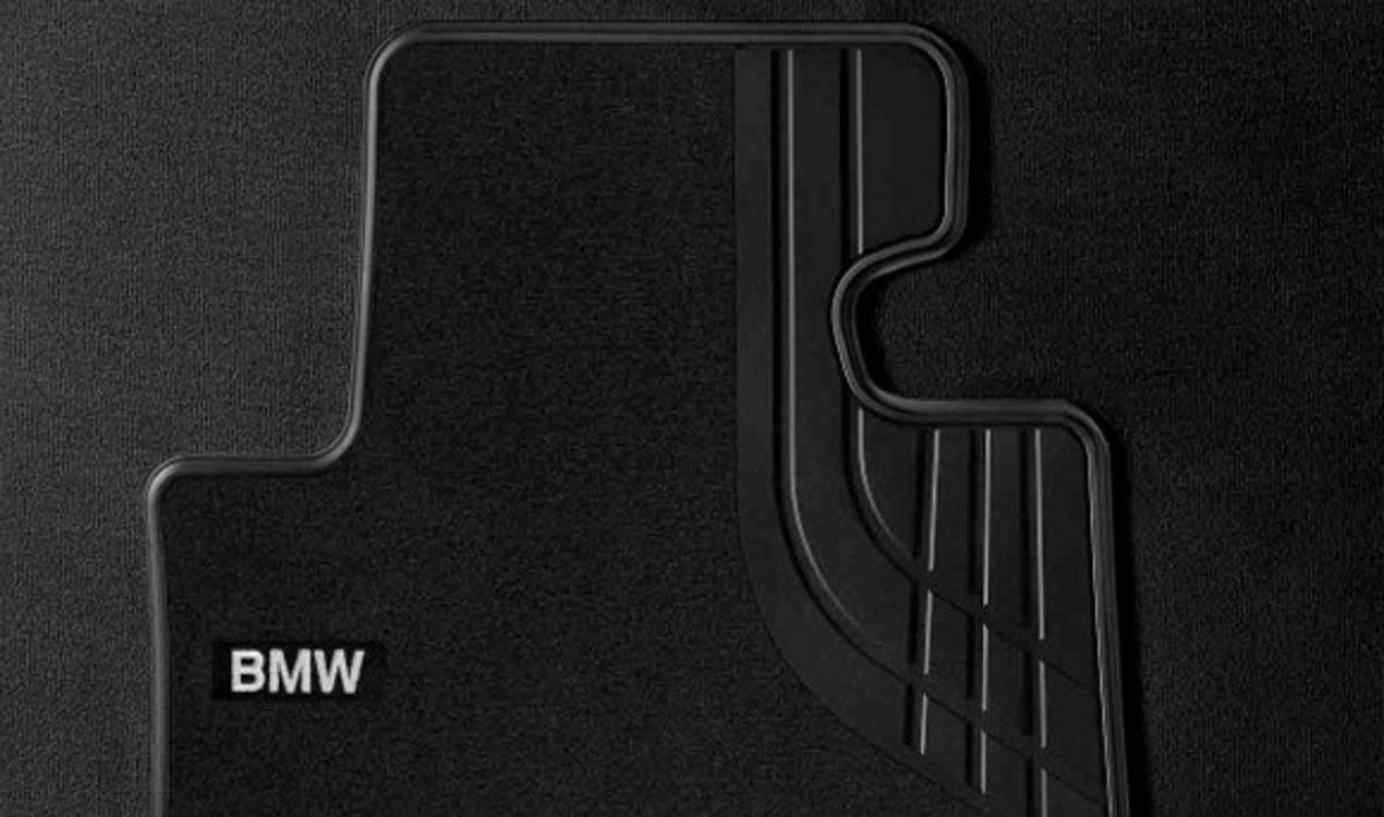 Original BMW Allwetterfußmatten Matten schwarz vorne 2er F45 ActiveTourer
