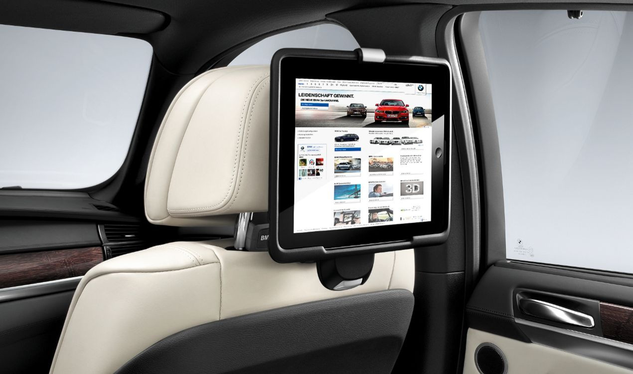 bmw travel comfort system halter apple ipad. Black Bedroom Furniture Sets. Home Design Ideas