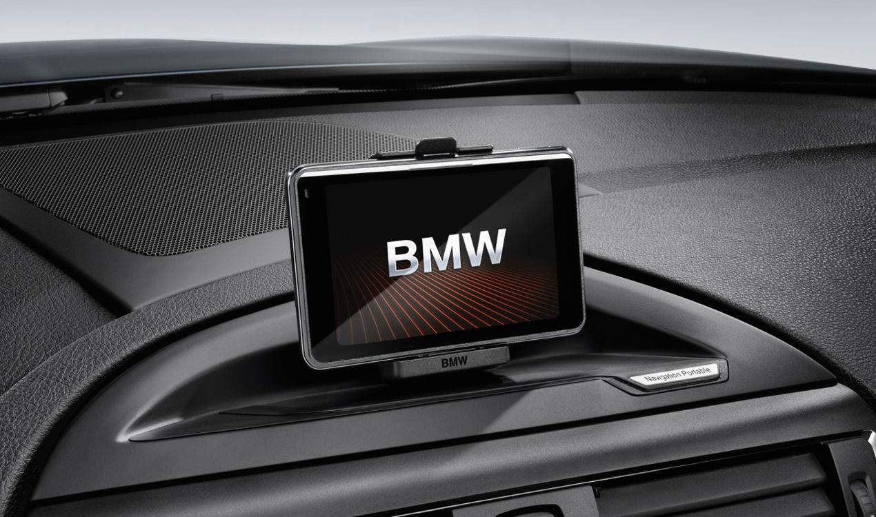 Bmw Halter Navigation Portable Plus 1er E81 E82 E87 E88