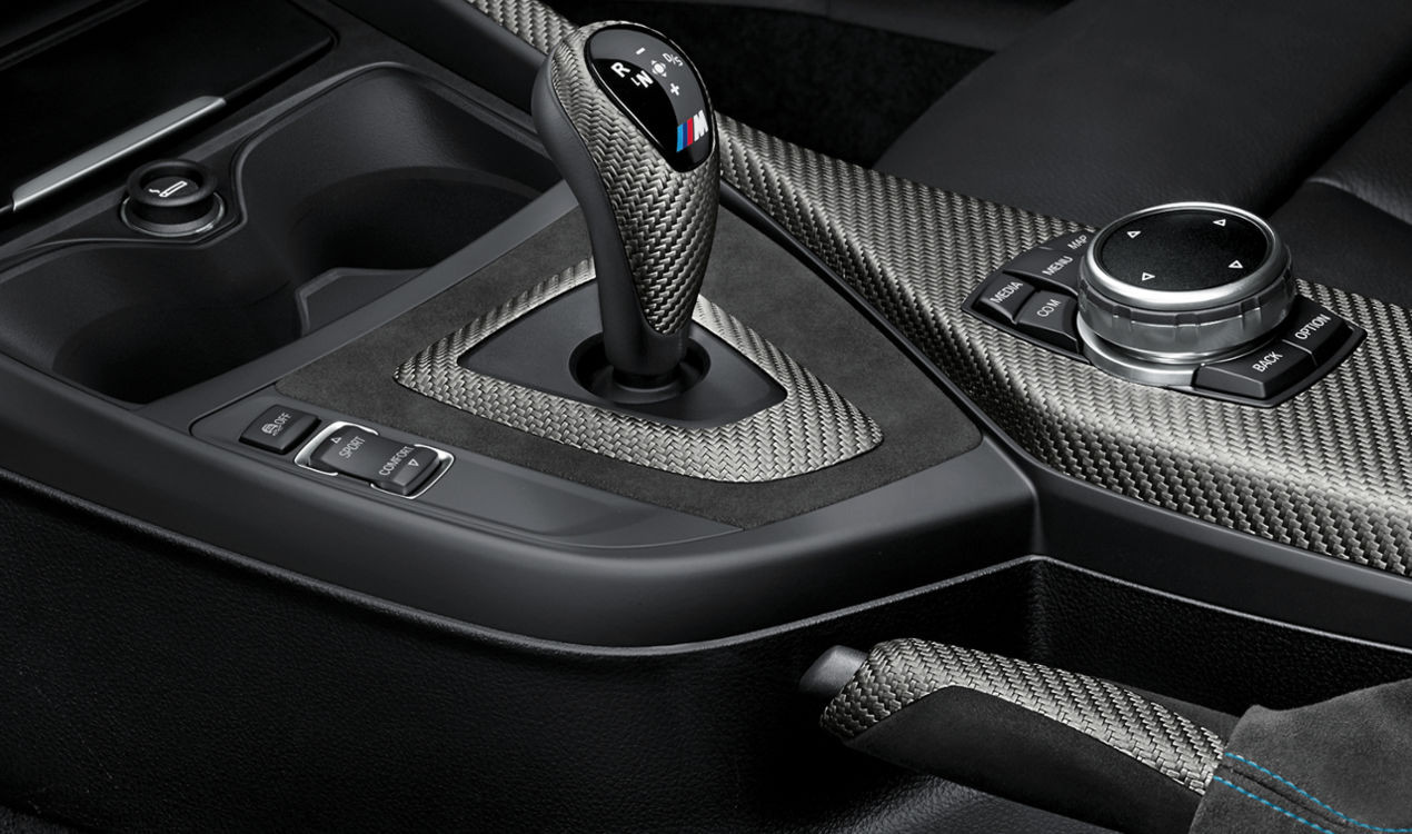 Bmw m performance interieur kit carbon alcantara m2 f87 for Carbon interieur