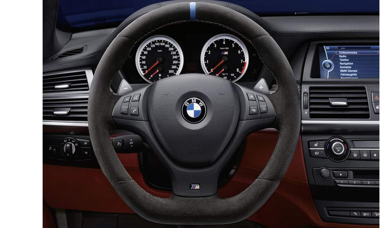 bmw m performance lenkrad alcantara x5 m e70 x6 m e71. Black Bedroom Furniture Sets. Home Design Ideas