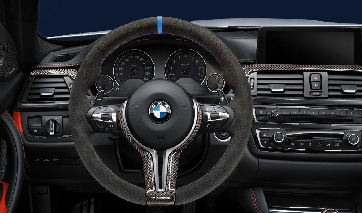 Bmw M Performance Lenkrad Alcantara Mit Carbonblende 5er M F10 6er M