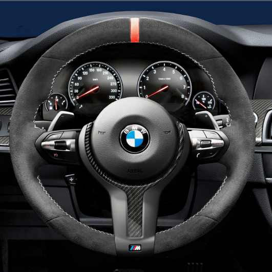 bmw m performance lenkrad alcantara mit carbonblende x5. Black Bedroom Furniture Sets. Home Design Ideas