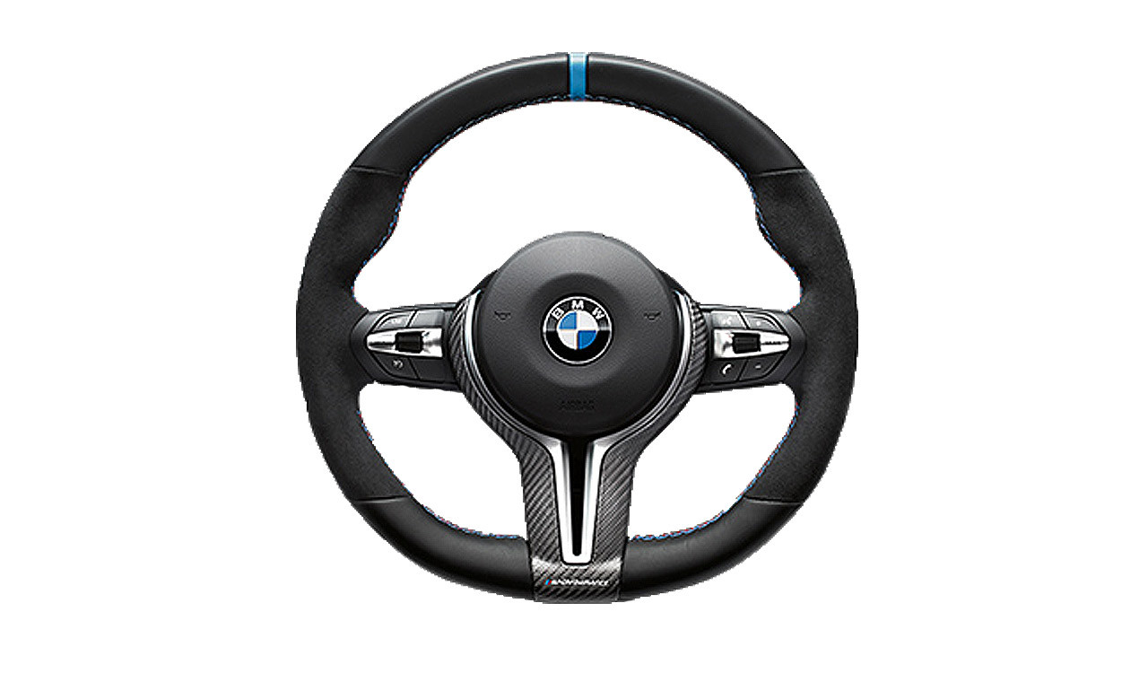 bmw m performance abdeckung lenkrad carbon m2 f87. Black Bedroom Furniture Sets. Home Design Ideas
