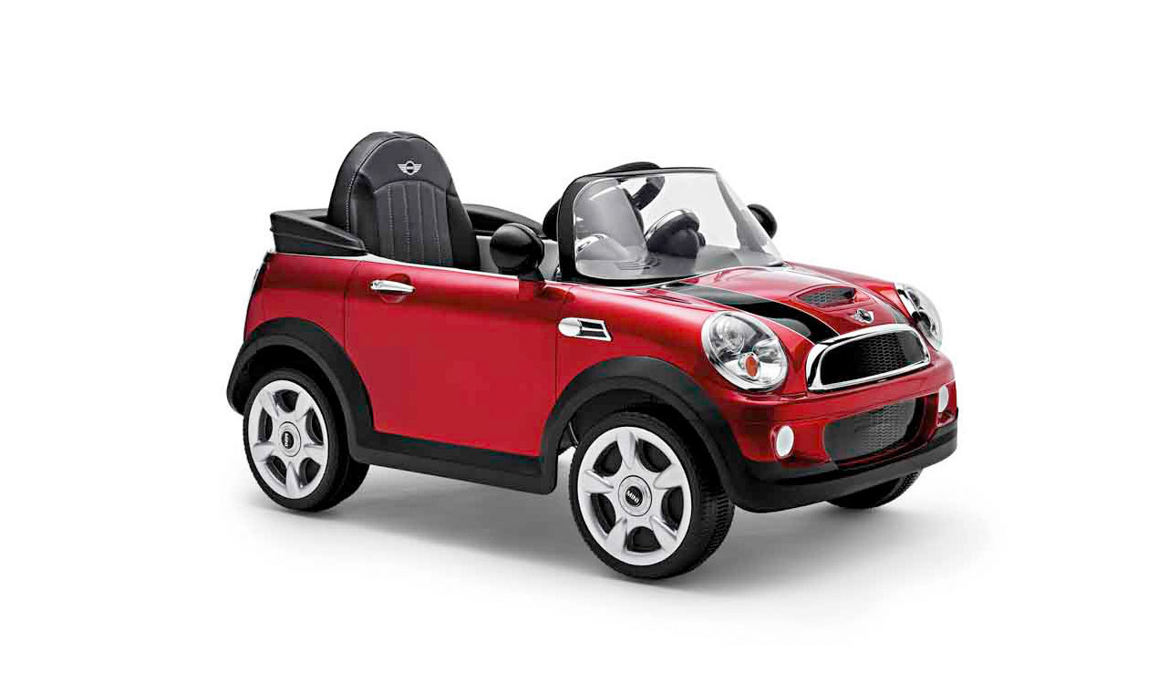 mini cooper s cabrio red electro car. Black Bedroom Furniture Sets. Home Design Ideas