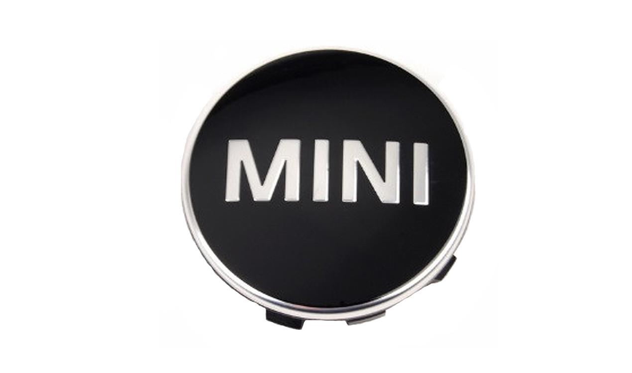 mini nabenabdeckung mit chromrand f54 f55 f56 f57 f60. Black Bedroom Furniture Sets. Home Design Ideas