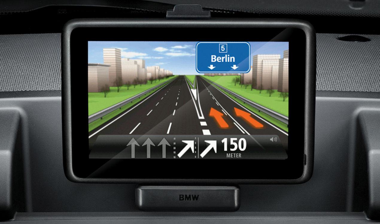 bmw navigation portable hd traffic. Black Bedroom Furniture Sets. Home Design Ideas