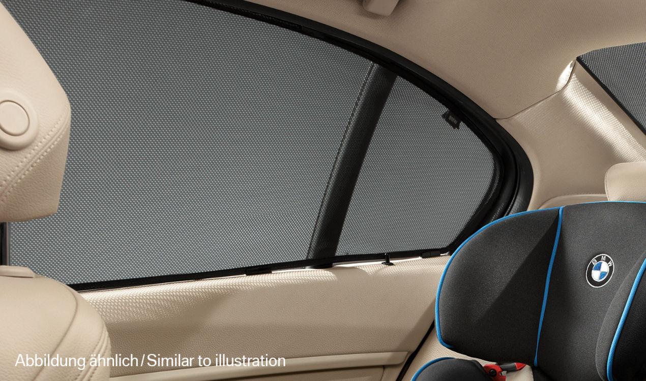 bmw sonnenschutz seitenscheiben hinten 1er f20. Black Bedroom Furniture Sets. Home Design Ideas