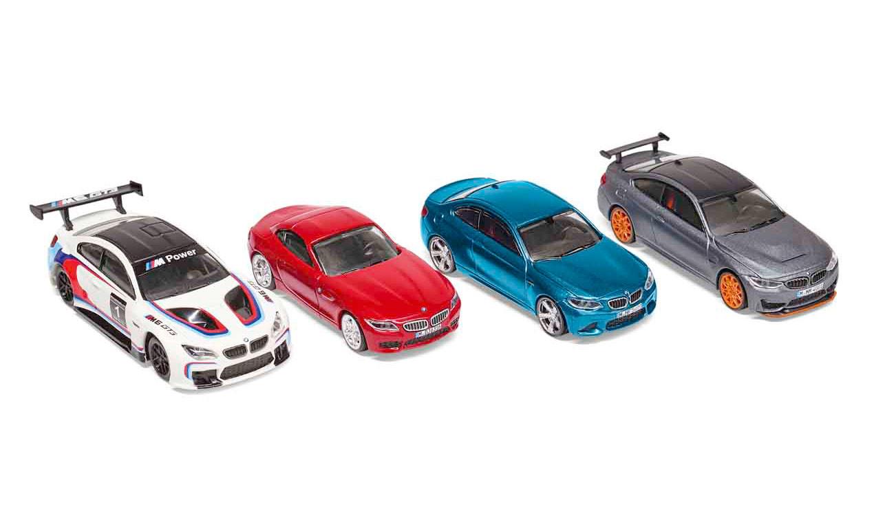 Bmw Sport Car Collection Set Miniatur 1 64 Leebmann24 De