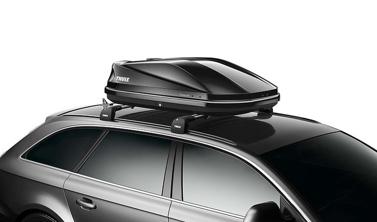 thule dachbox touring s. Black Bedroom Furniture Sets. Home Design Ideas