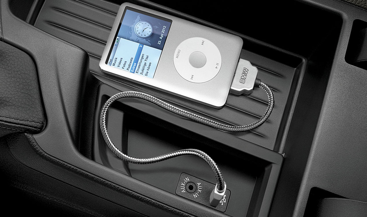 bmw usb adapter f r apple ipod iphone 4 4s. Black Bedroom Furniture Sets. Home Design Ideas