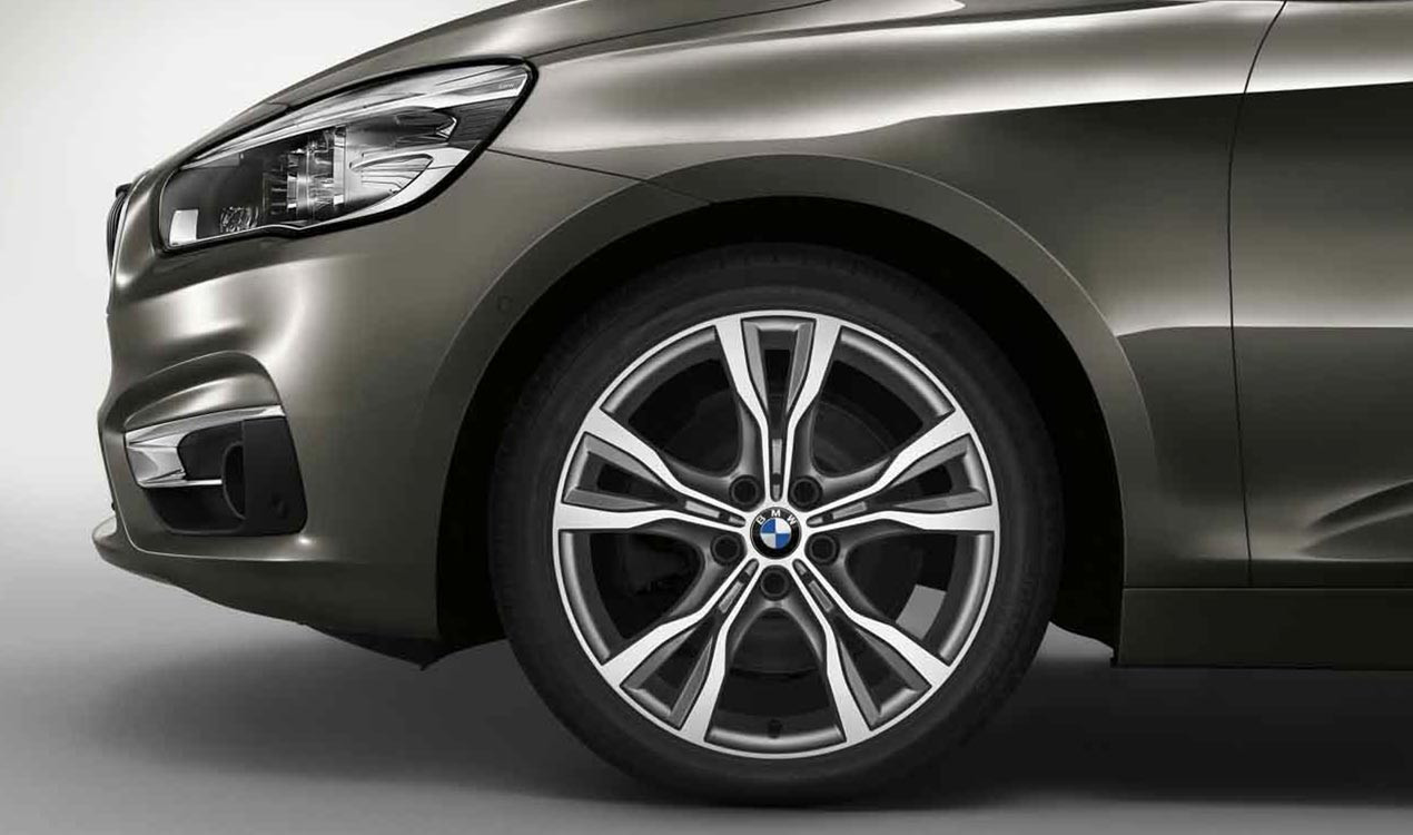BMW Alufelge Y-Speiche 484 bicolor (ferricgrey / glanzgedreht) 8J x 18 ET