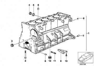 Sechskantschraube mit Scheibe M8X22 1er 3er 5er 6er 7er X1 X3 X5 X6 Z3 Z4 Z8 MINI  (07119905739)