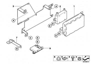 Ladefreisprechelektronik  1er 3er 5er X3 X5 Z4 MINI  (84109154358)