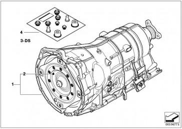 Austausch Automatikgetriebe EH GA6HP26Z 5er  (24007539991)