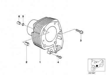 Zylinder links A/B H=80,05     (11117667101)