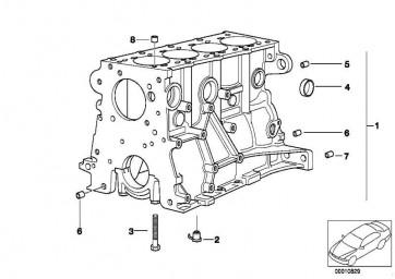 Zylinder-Kurbelgehäuse mit Kolben  3er Z3  (11111712975)