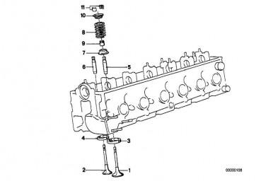 Reparatursatz Ventilschaftabdichtung  3er 5er 6er 7er 8er Z1  (11349059172)