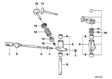 Stösselstange  R A10B08 R50/5-R90S  (11321262907)