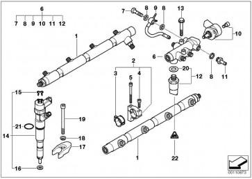 Drucksensor  3er 5er 7er X5  (13537812345)