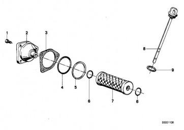 Schraube M6X20            (11131460677)