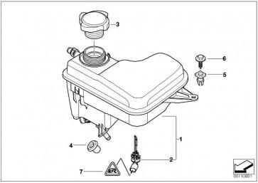 Ausgleichsbehälter  7er  (17137800293)