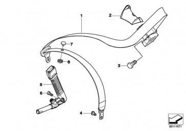 Zylinderschraube M10X15 1er 2er 3er 4er X1 X3 X4 Z4  (07147122476)