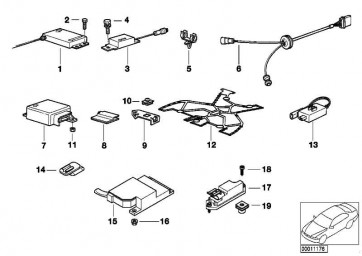 Adapterleitung Airbagsensor  3er 5er 7er  (65778378990)