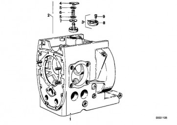 Motorgehäuse  R50/5-R90S  (11111338055)