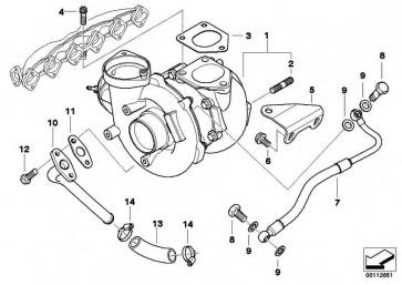 Austausch Turbolader  X5  (11657791046)