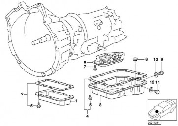 Hydraulikfilter, Automatikgetriebe (MAF-H 2426 KIT)