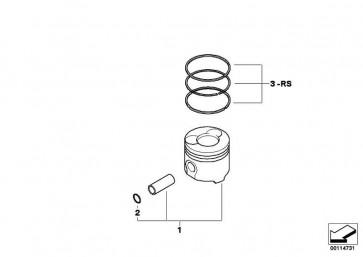 Reparatursatz Kolbenringe (0)             MINI  (11250300838)