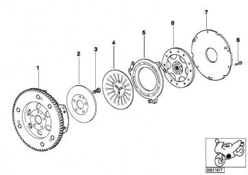 Innensechskantschraube M6X20            (21212332469)