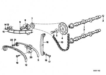Sechskantschraube M10X1X22         (07119911621)