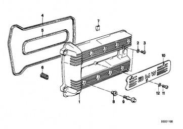 Zylinderschraube M6X12 ZN/SW     8er  (07119919800)