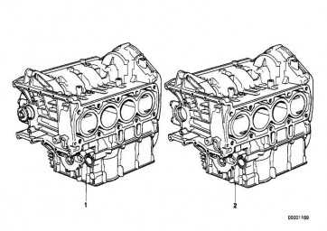 Zylinder-Kurbelgehäuse mit Kolben  K589  (11001464243)