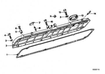 Sechskantschraube M6X8             3er 5er 6er 7er 8er Z3  (07119913420)