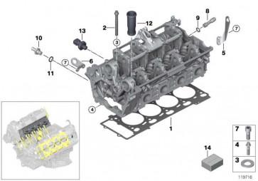 Dichtungssatz Zylinderkopf asbestfrei  X5  (11120306824)