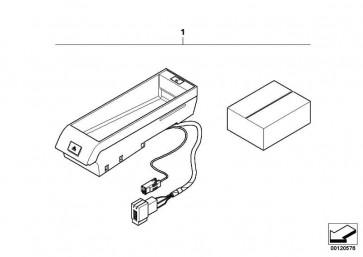 Universal-Stiftgehäuse uncodiert 3 POL. 1er 3er 5er 6er 7er X1 X3 X5 X6 Z3 Z4 Z8 MINI  (61136931929)
