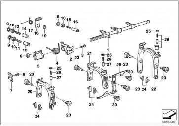 Schaltwelle  7er 5er 3er X5 Z3  (23317501036)
