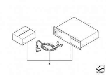 Verkleidung Gepäckraum links  3er  (51477122411)