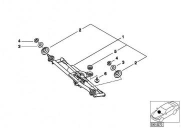 Dämpfungsring Unterteil  3er X3  (61618391954)