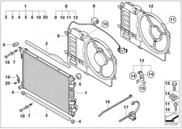 Lüfter, Motorkühlung (NRF-47301)