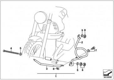Satz Motorschutzbügel  K30  (71607665794)