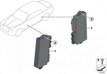 Steuergerät Fahrertür hinten  7er  (61356964142)