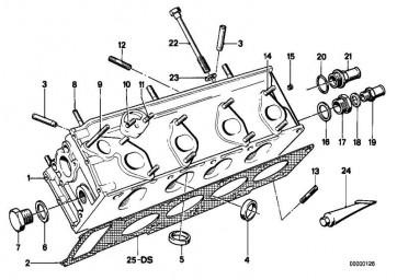 Sechskantschraube mit Scheibe M8X20-Z1        3er 5er 6er 7er 8er X5 Z1 Z3 Z4  (07119915093)