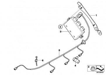 Kabelsatz PDC  Z4  (61126925903)