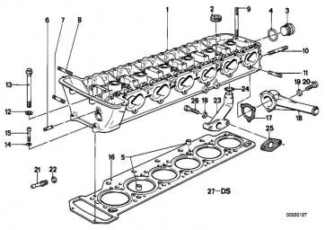 Zylinderschraube M6X30           3er 5er 6er 7er M1 Z3  (07119919928)