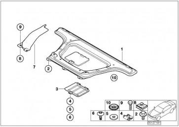 Schnellverschlussschraube  3er X5 X6 MINI  (07147177492)